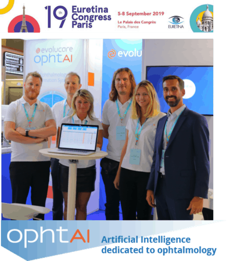 A part of the OphtAI team